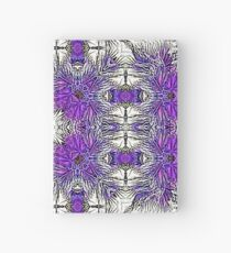 Palm Leaves Abstract Art Pattern  Hardcover Journal