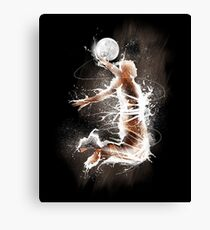 Jump To The Moon Canvas Print