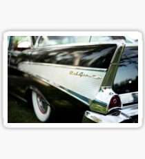 Fins - Black Belair Sticker