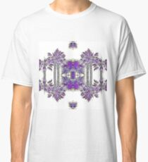 Passionately Purple Palm Leaves  Classic T-Shirt