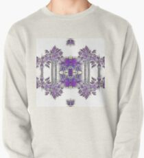 Passionately Purple Palm Leaves  Pullover