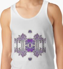 Passionately Purple Palm Leaves  Tank Top