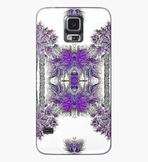 Passionately Purple Palm Leaves  Case/Skin for Samsung Galaxy