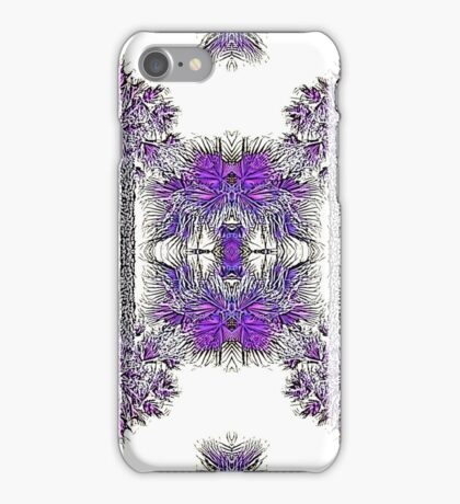 Passionately Purple Palm Leaves  iPhone Case/Skin