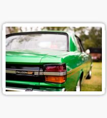 Green Falcon GT Sticker