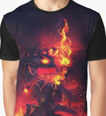 Xin, the Ember Spirit Graphic T-Shirt
