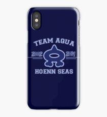 Team Aqua iPhone Case