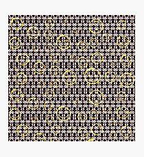 Bored sherlock Photographic Print