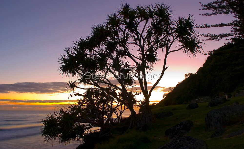 Burleigh Point at Sunrise by Steve Grunberger