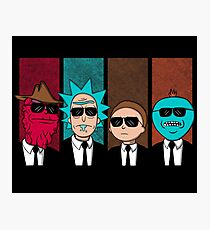 Rickservoir Dogs Photographic Print