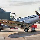 Spitfire FR.XVIII SM845 G-BUOS by Colin Smedley
