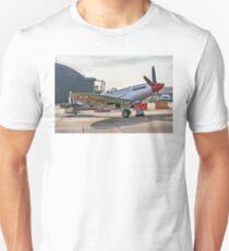 Spitfire FR.XVIII SM845 G-BUOS Unisex T-Shirt