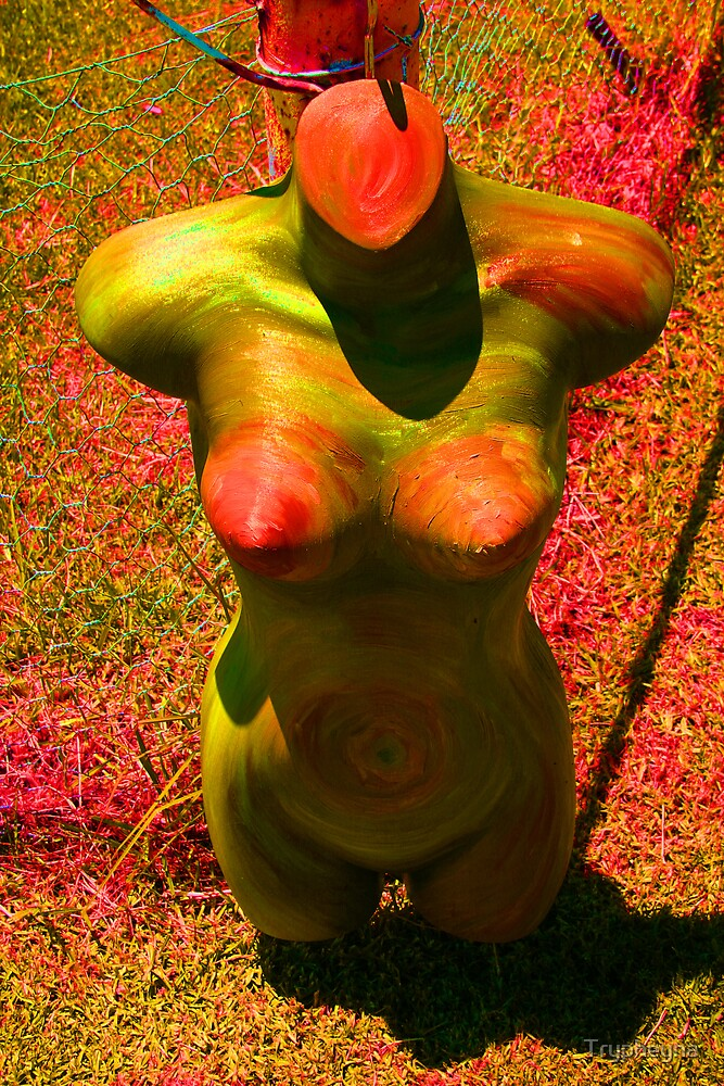 Mannequin Above by Trypheyna