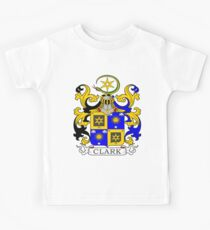 Clark Coat of Arms Kids Clothes