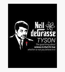 Neil deGrasse Tyson Godfather Photographic Print
