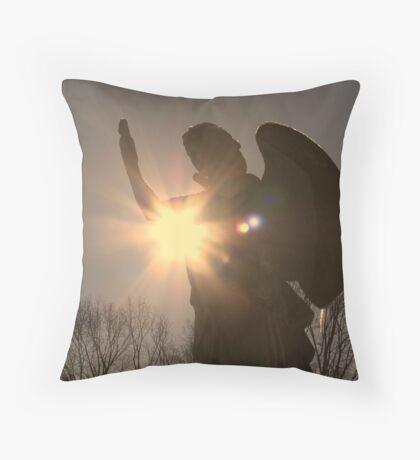 Heavenly Messanger Throw Pillow