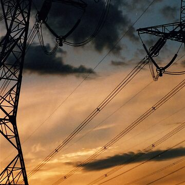 powerline sunset 2 by blackbear