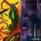 Left Brain, Right Brain (Oils - 35 x 48cm) by ArtStudioV