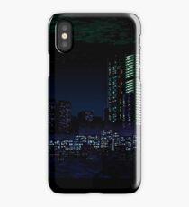 Va-11 Hall-A city scape iPhone Case/Skin