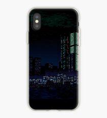 Va-11 Hall-A city scape iPhone Case