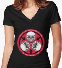 30 seconds to Mars bettylair 6 Women's Fitted V-Neck T-Shirt