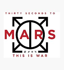 30 seconds to Mars bettylair 11 Photographic Print