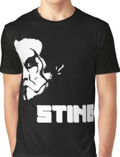 White n' Black | STING Graphic T-Shirt