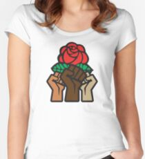 Democratic Socialists of America Unite Women's Fitted Scoop T-Shirt