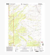USGS TOPO Map Colorado CO Trapper 234775 2000 24000 Photographic Print