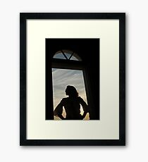 Sandra's Door Framed Print