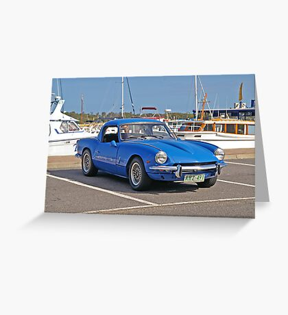 Triumph Spitfire 4 - 1963 Greeting Card