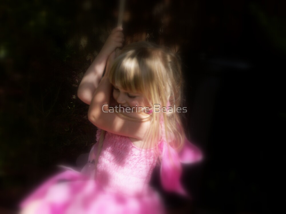 Fairy at the bottom of the garden by Catherine Beales