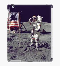 The conquest of the moon iPad Case/Skin