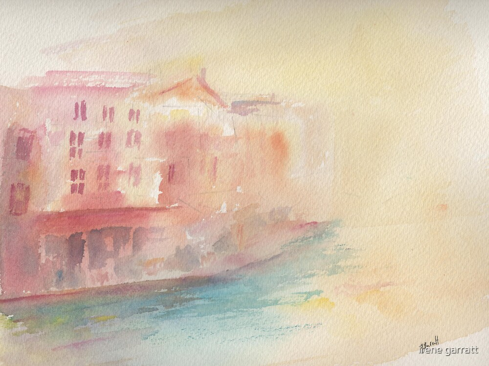 River view of Annacy by irene garratt