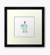 Cock Character Framed Print