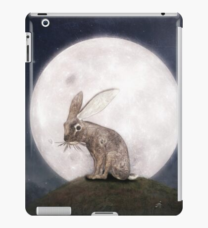 Night Rabbit iPad Case/Skin