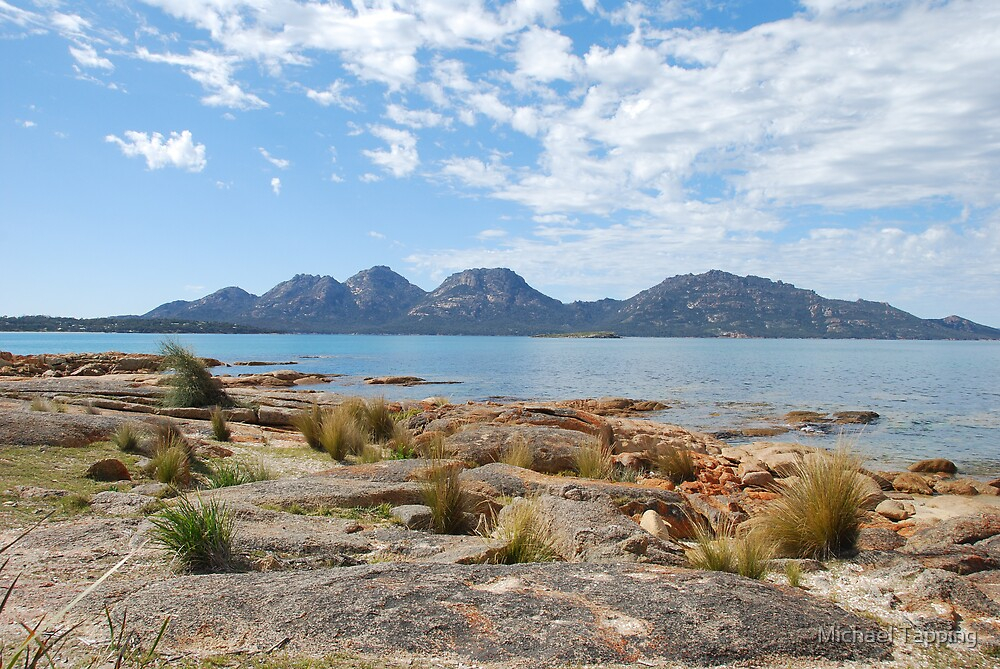 The Hazards - East Tasmania by Michael Tapping