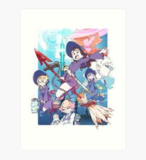 Little Witch Academia Art Print