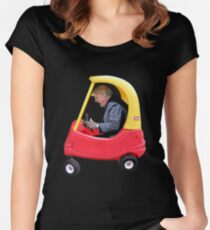 Trump Boss Baby Women's Fitted Scoop T-Shirt