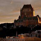 Fairmont Le Chateau Frontenac Quebec, Canada by Margaret Shark
