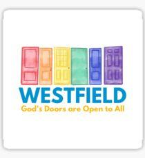 God's Doors! Sticker