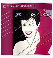 Duran Duran Rio Poster
