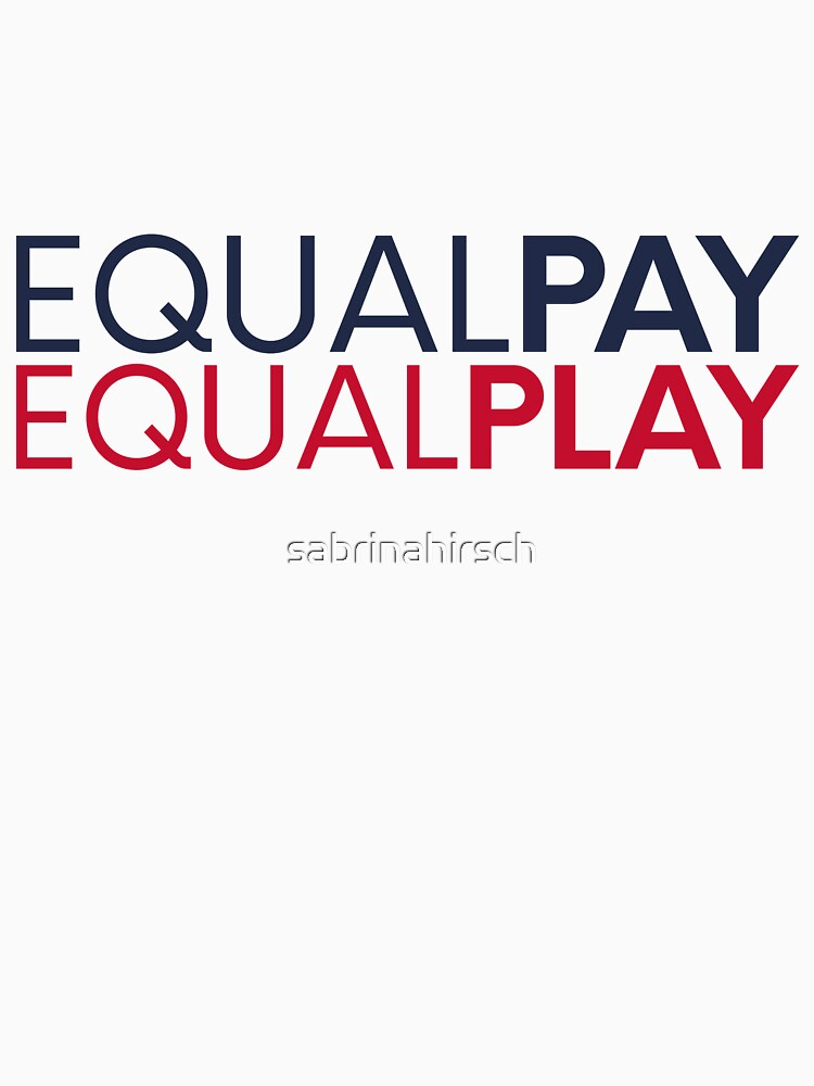 equal pay for equal play by sabrinahirsch