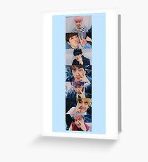 BTS peace Greeting Card