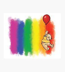 Pride Bear Gay Photographic Print