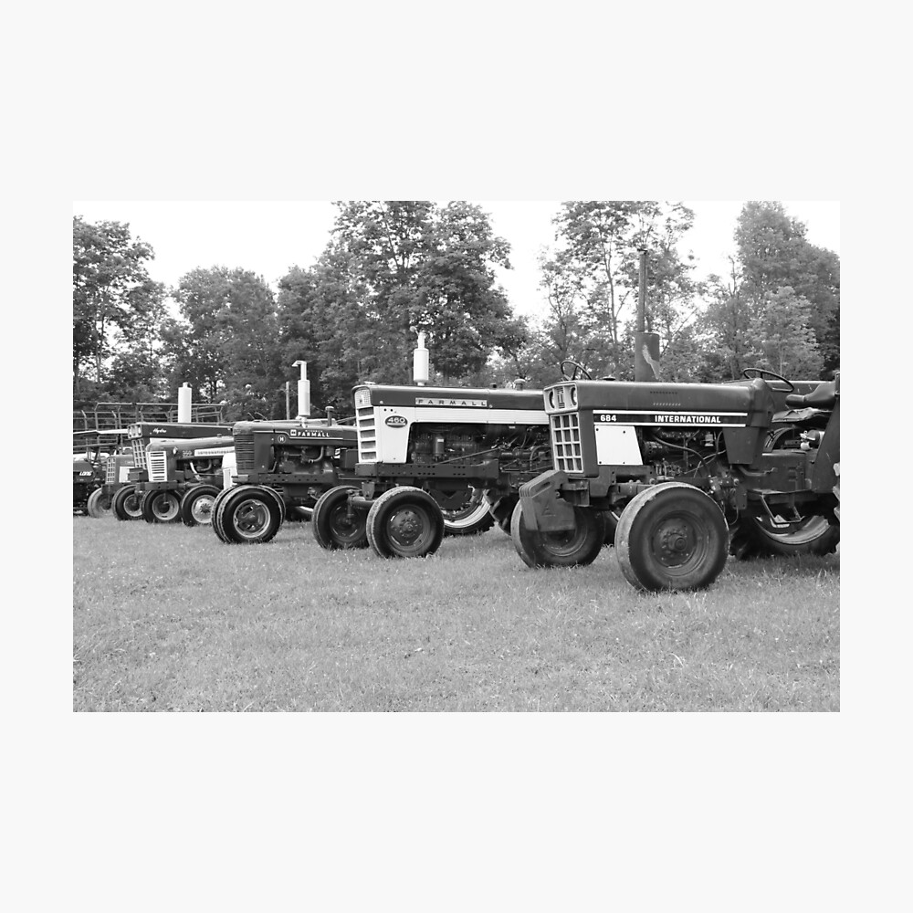 Tractor Show 2016 Photographic Print