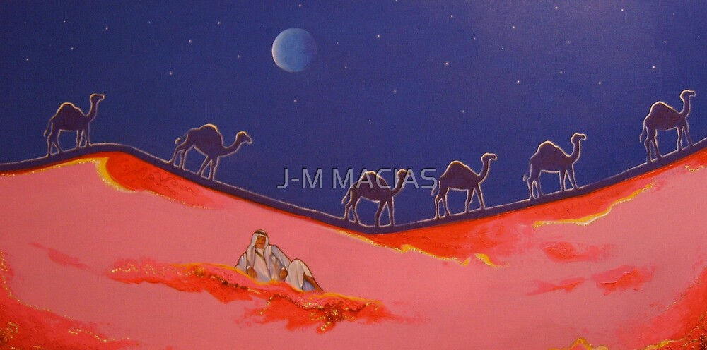 desert rose  by J-M MACIAS