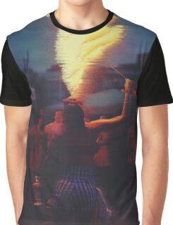 Fire Girl. Graphic T-Shirt