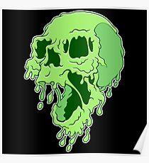 Melty Skull Poster