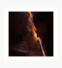 Gentle Light in Antelope Canyon Art Print